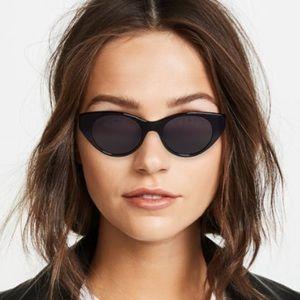 NEW Rag & Bone Cat Eye Sunglasses Black